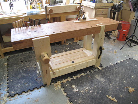 Wood Workbench Plans Metric