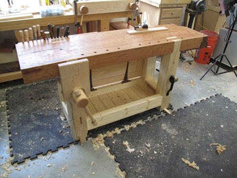 Another Roubo Workbench Fin Lost Art Press