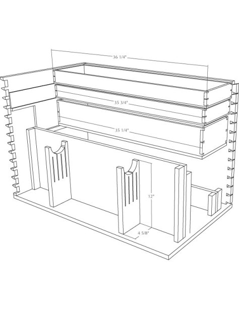 woodworking chest plans
