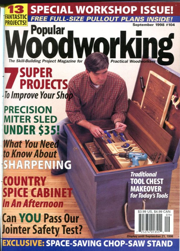 tool chest plans woodworking