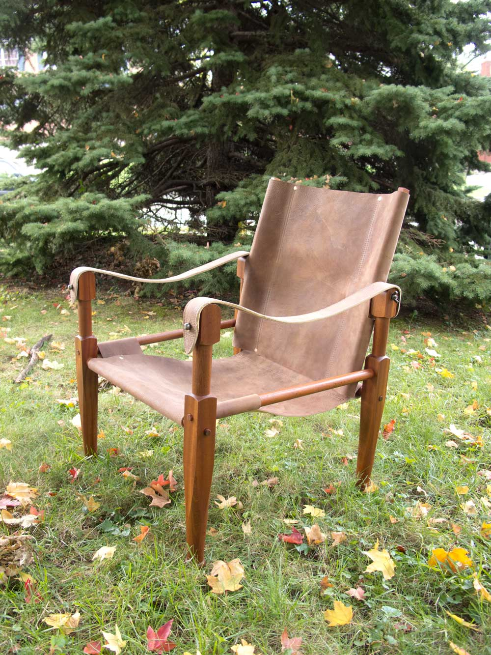 Beau Roorkhee Chair In U0027Crazy Horseu0027 Leather