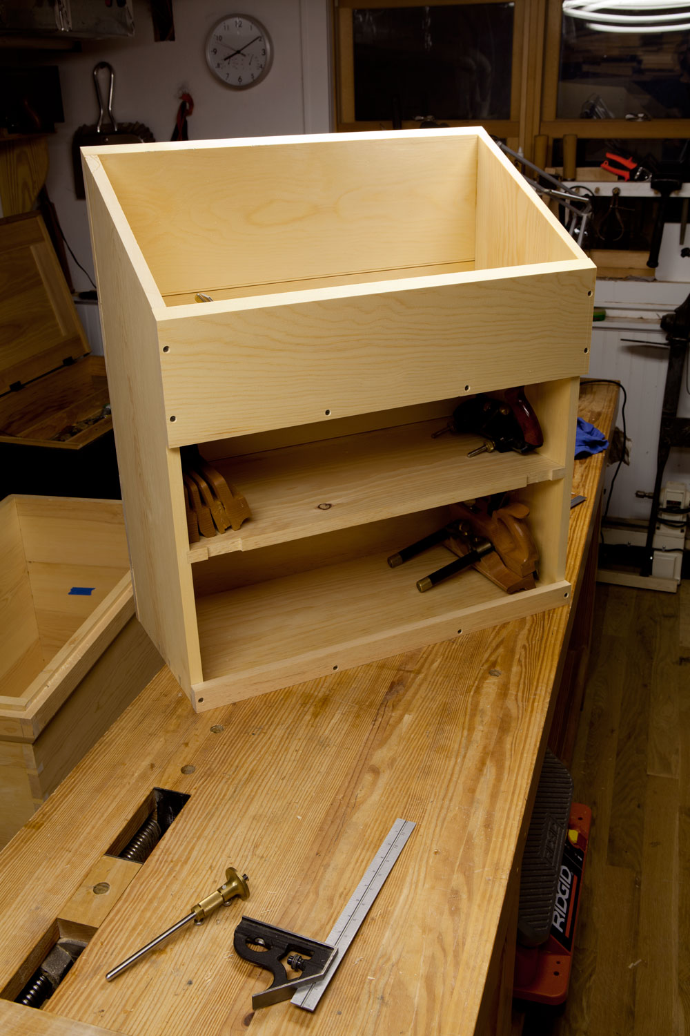 Diy Oak Machinist Tool Chest Plans Wooden Pdf Bedside