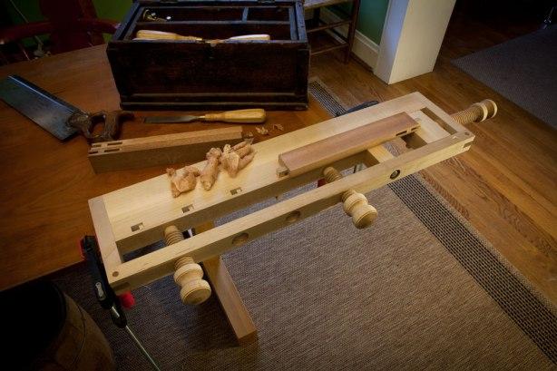DIY Portable Work Bench Plans Download narrow farm table   drunk72bsl