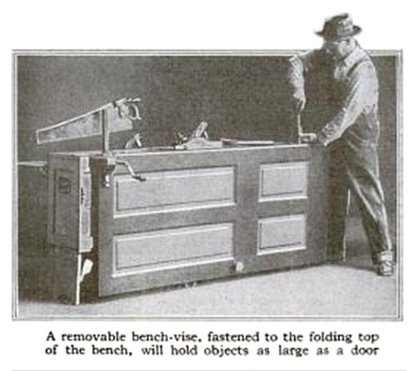 His Tool Chest Is A Workbench Too Lost Art Press