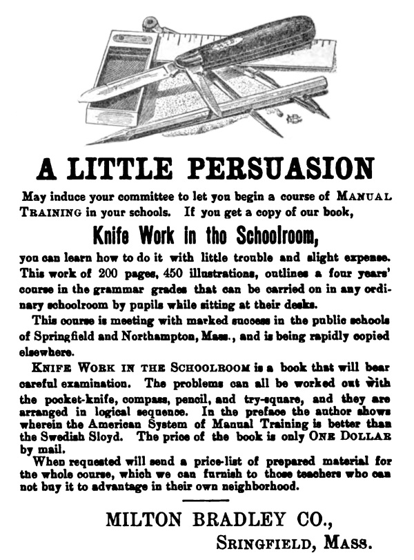 knife_work_in_ the_schoolroom_advert