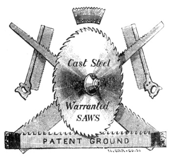 Manufacture of Saws in Sheffield