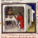 Atreus' revenge, De casibus (BNF Fr. 229, fol. 16v), c. 1435-1440