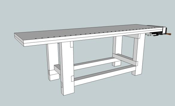 Surprising We Interrupt This Bench Build Lost Art Press Spiritservingveterans Wood Chair Design Ideas Spiritservingveteransorg