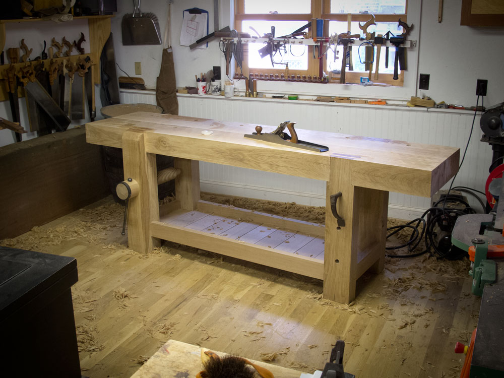 Flattening The Bench She Works Wood