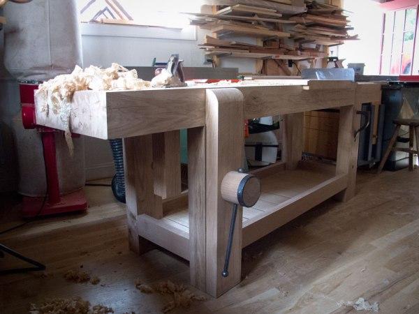 French Oak Bench Last Details Lost Art Press