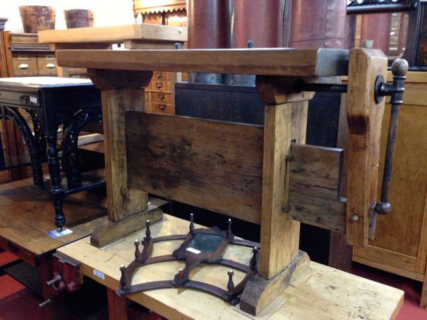 woodworking bench antique