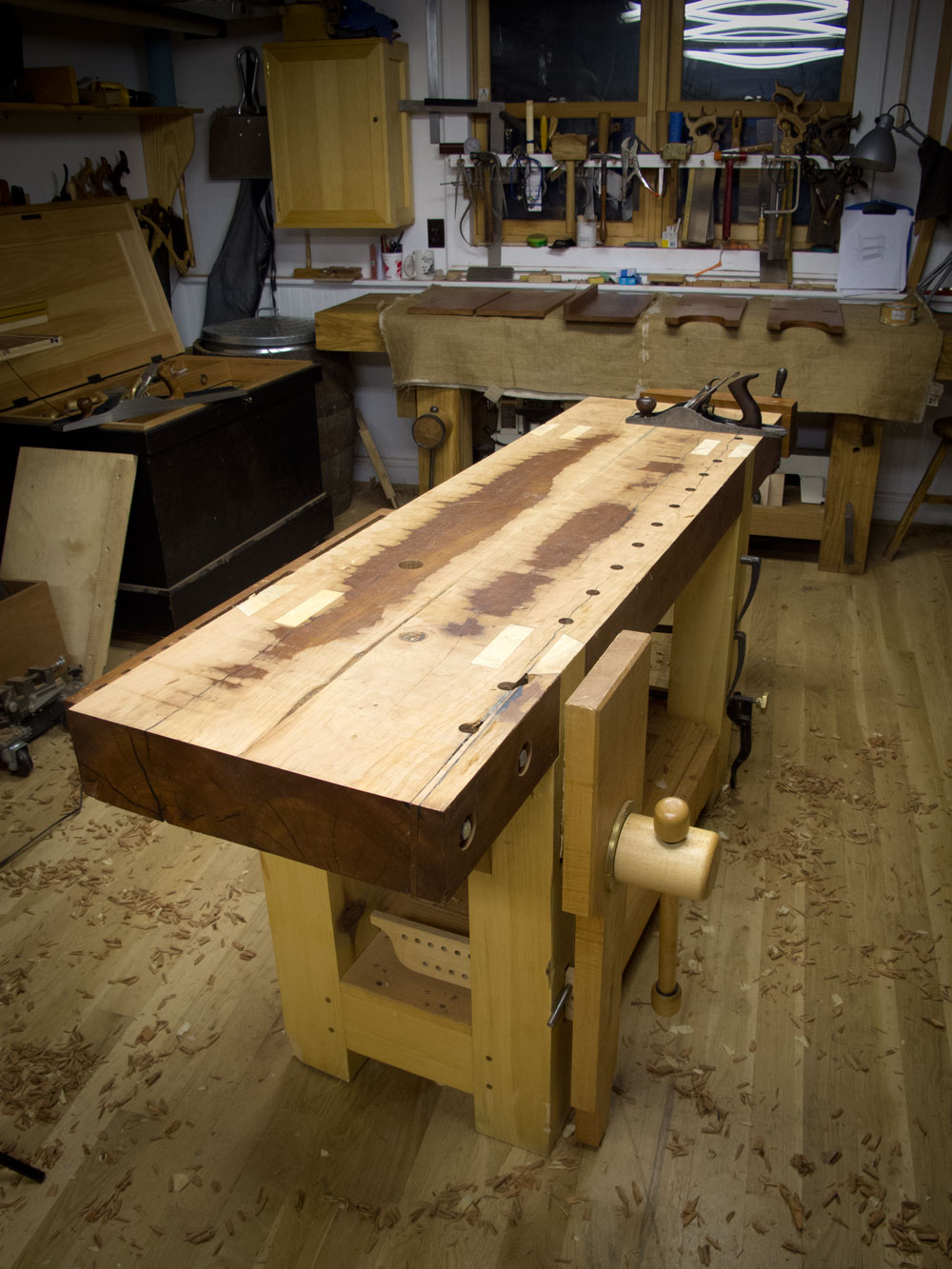 slab-top workbenches and evil spirits, part 2 | lost art press