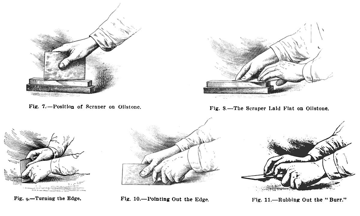 Sharpening a Scraper | Lost Art Press