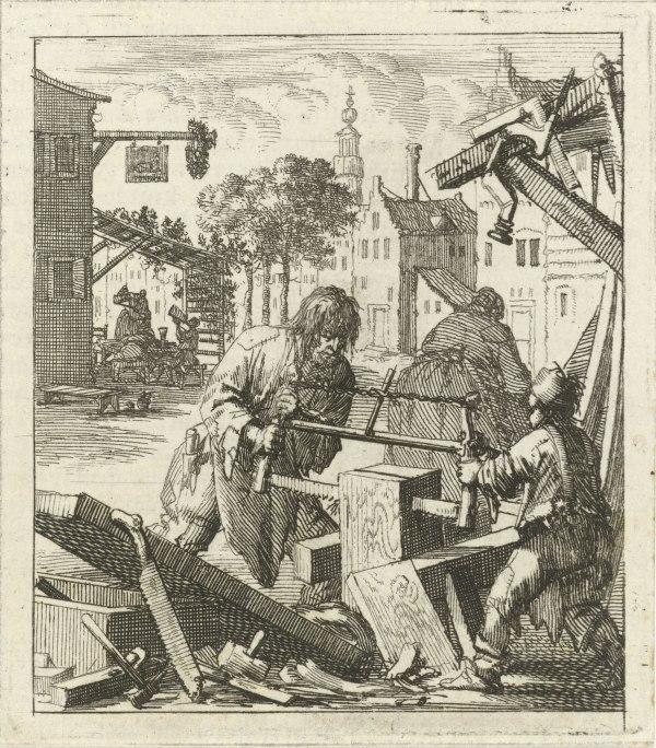Illustratie uit: Huygen, Pieter. De beginselen van Gods koninkryk in den mensch uitgedrukt in zinnebeelden. Amsterdam: wed. Arentsz. Pieter (II), 1689, p. 32.