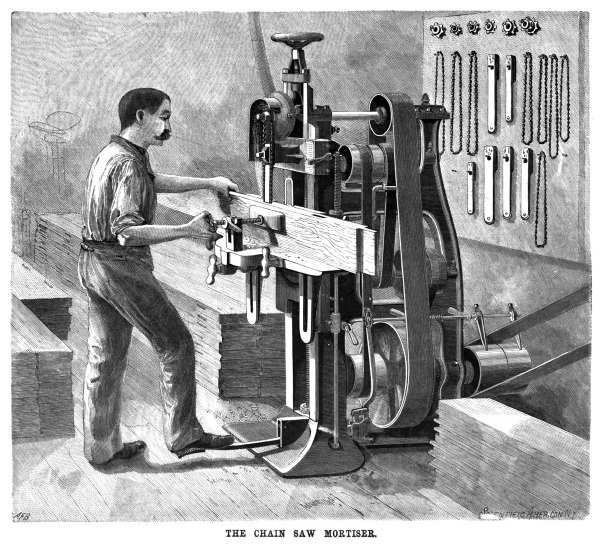 chain-saw-mortiser