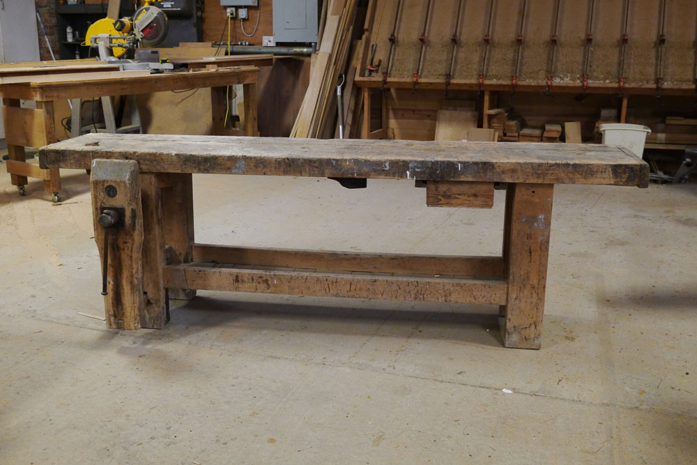 French Workbenches Old And In The Birth Canal Lost Art
