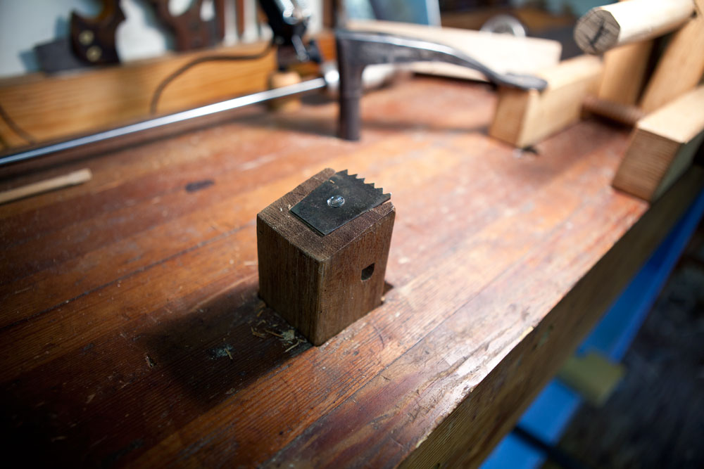 Jennie Alexander's Bench Hook | Lost Art Press