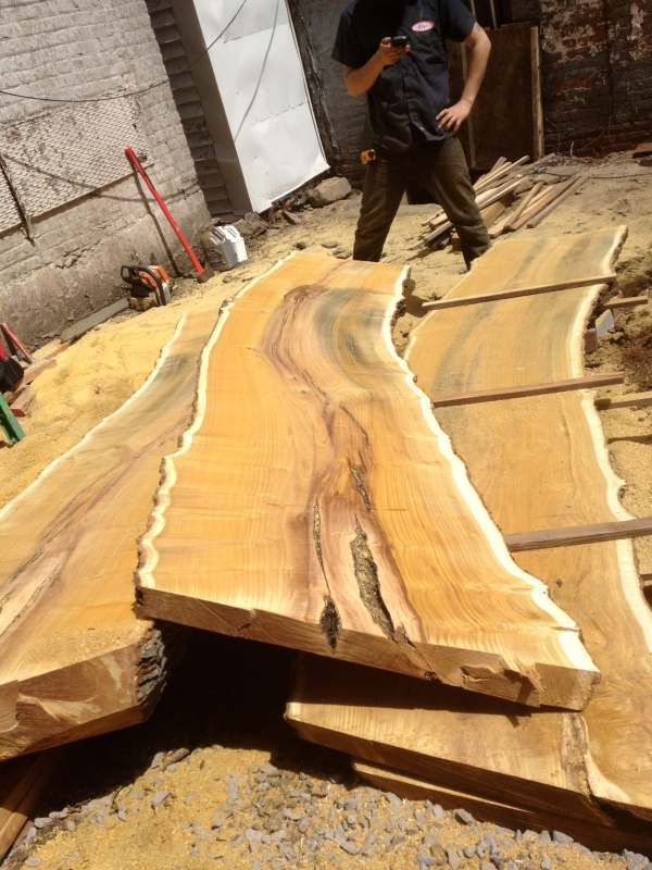 Mulberry slabs