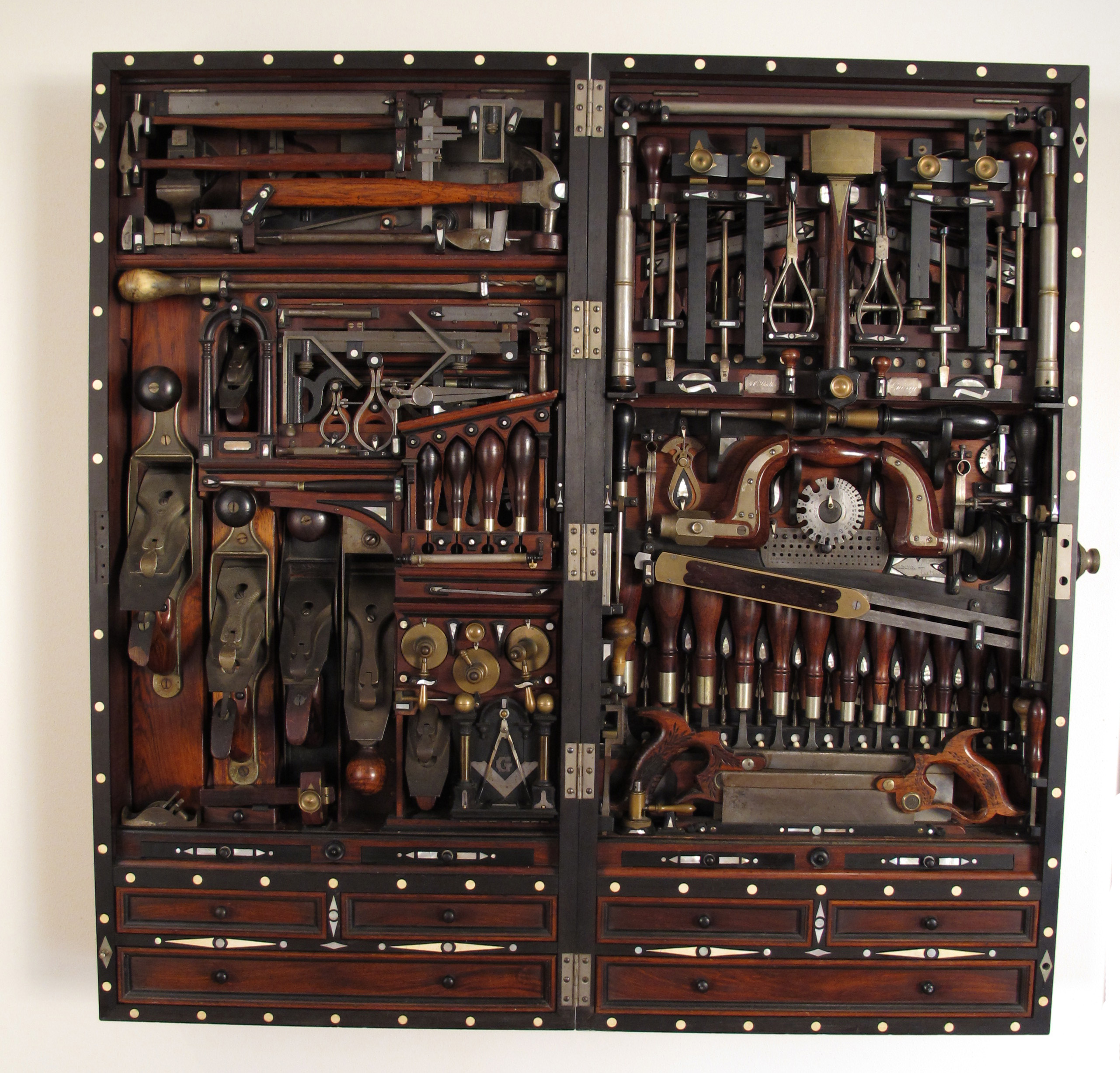 Studley Tool Chest Exhibit FAQs | Lost Art Press