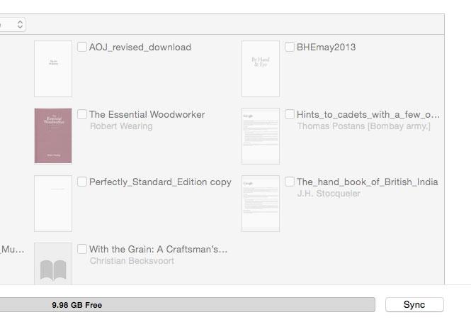 Adding a pdf to Your iPad   Lost Art Press