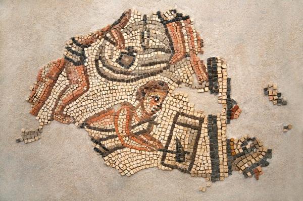 Second Construction scene fragment, Khirbet Wadi Hamam.