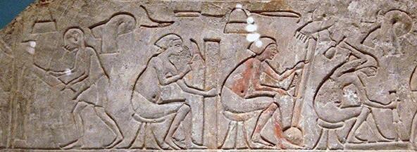 Carpenters, 1325 BC, Sakkara, Egypt.