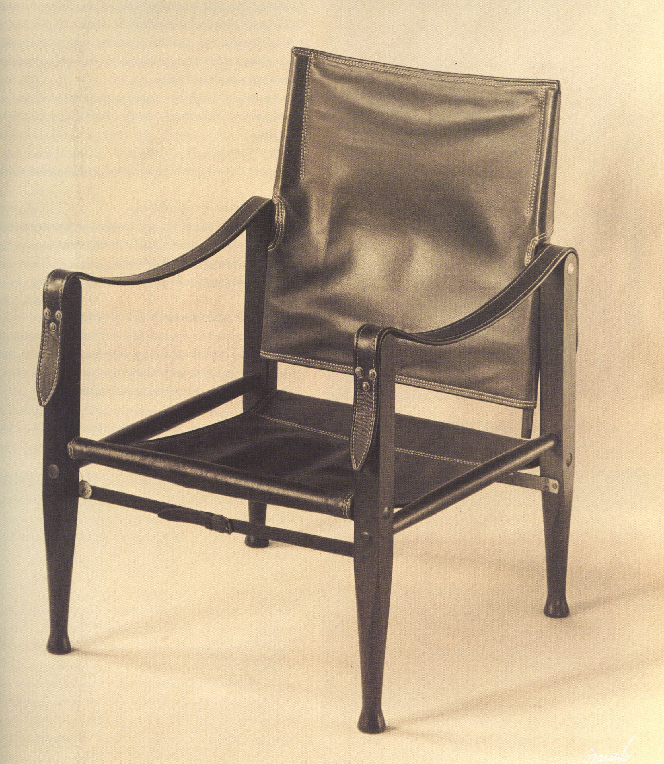 Kaare Klint Safari Chairs Early & Later