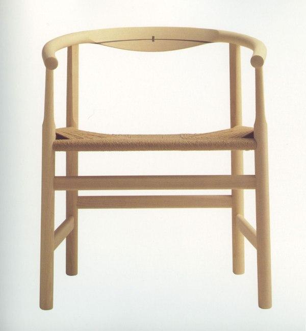 """Hans J. Wegner's """"Silla de Brazos"""" chair. 1969"""