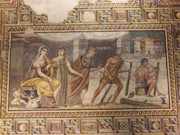 Zeugma Pasiphae Daedalus Mosaic Full