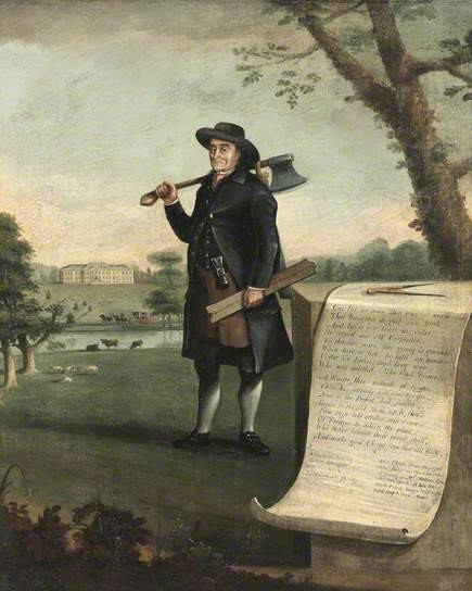 Edward Prince, Carpenter, Aged 73 by John Walters