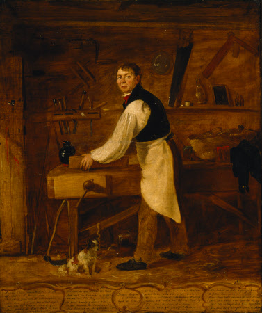 Thomas Rodgers, Carpenter, 1830 by William Jones of Chester.
