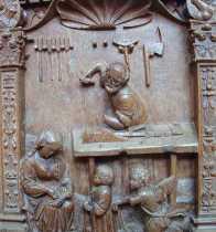 A more complete photo of St. Joseph's Workshop, La Collegiale Notre Dame.