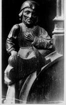 Die Schreiner, 1542-1548, Sint Catharina, Hoogsstrten, Antwerp, Belgium. This misericord may no long exist.