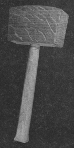 Continental-Pattern-Mallet