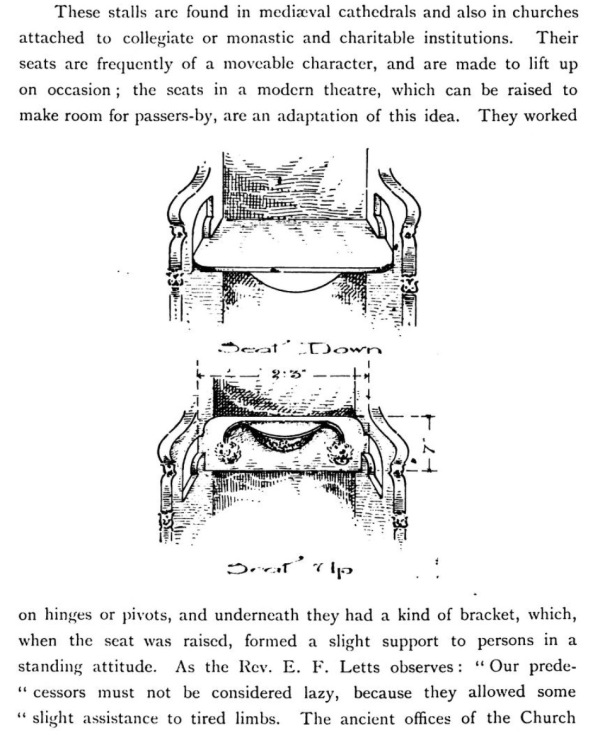 "From ""Choir Stalls and Their Carvings"" by Emma Phipson, 1896."