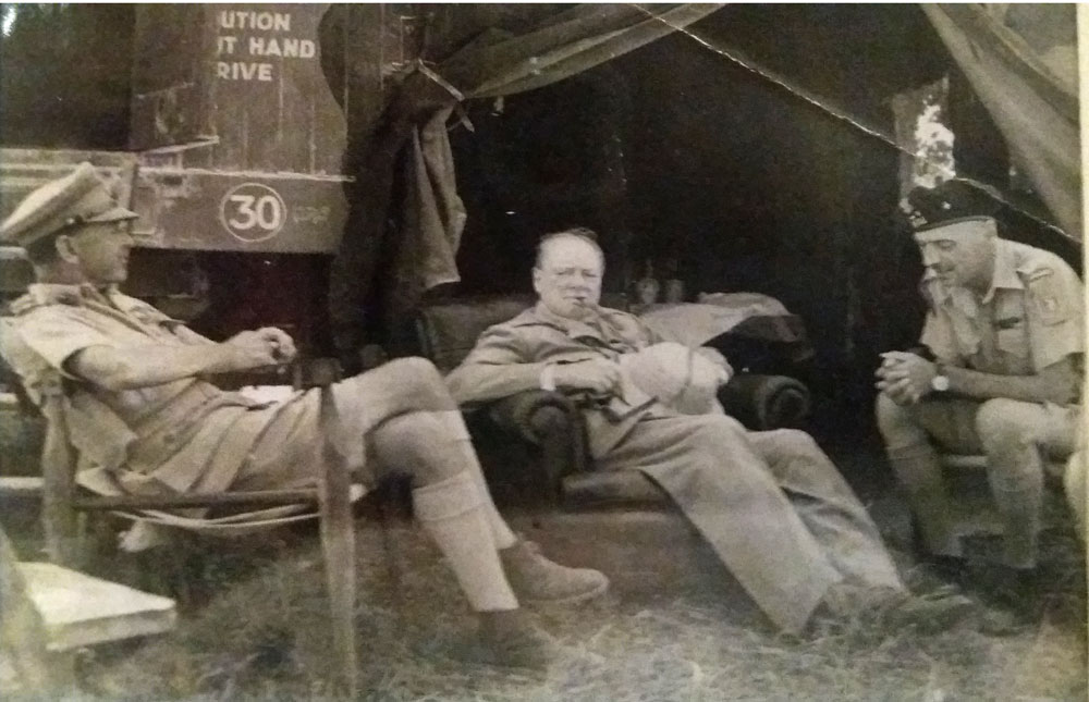 British Campaign Furniture. Check Out Churchillu0027s Chair!