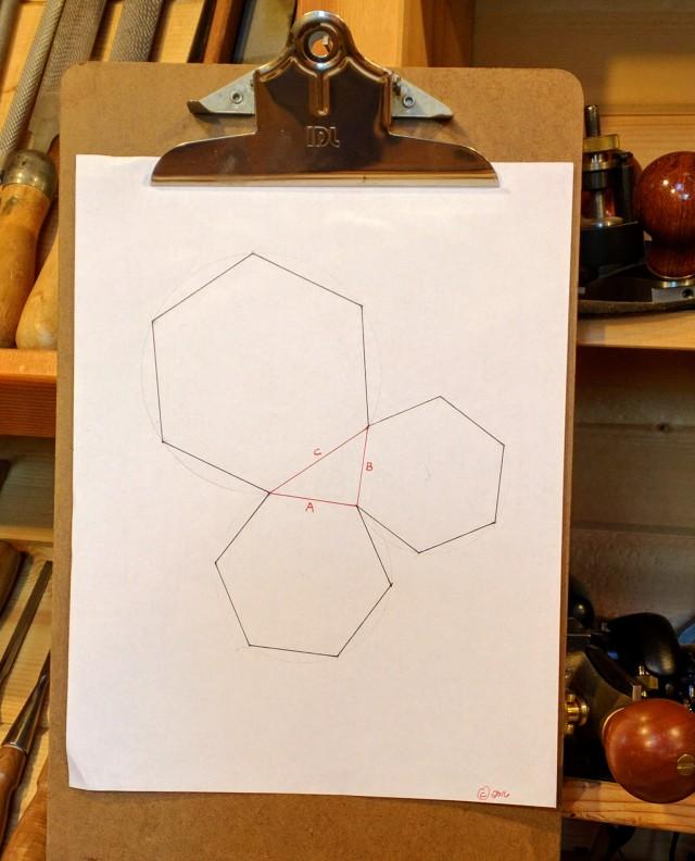 hexagoned