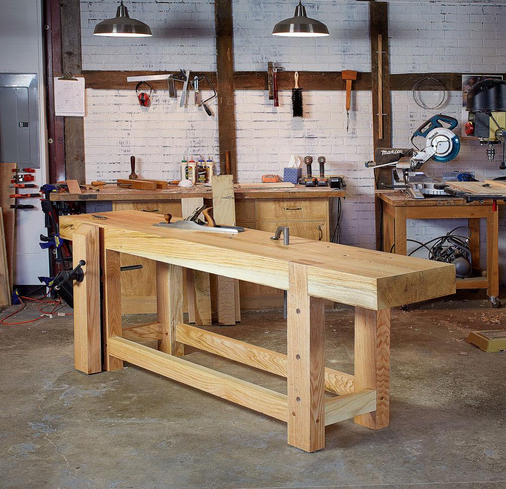 work with wet workbench tops lost art press. Black Bedroom Furniture Sets. Home Design Ideas