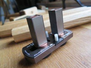 The Galbert Drawsharp is a simple and helpful jig for sharpening drawknives.