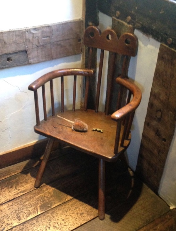 The Hall's Croft chair.