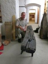Archaeologist Rüdiger Schwarz