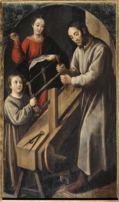 """FPO_""""La Segrada Familia"""" by Juan del Castillo, 1634-1636"""