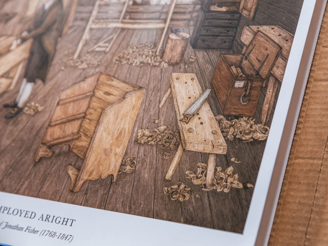 Hands Employed Aright Poster Lost Art Press-3