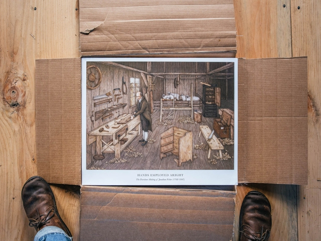 Hands Employed Aright Poster Lost Art Press