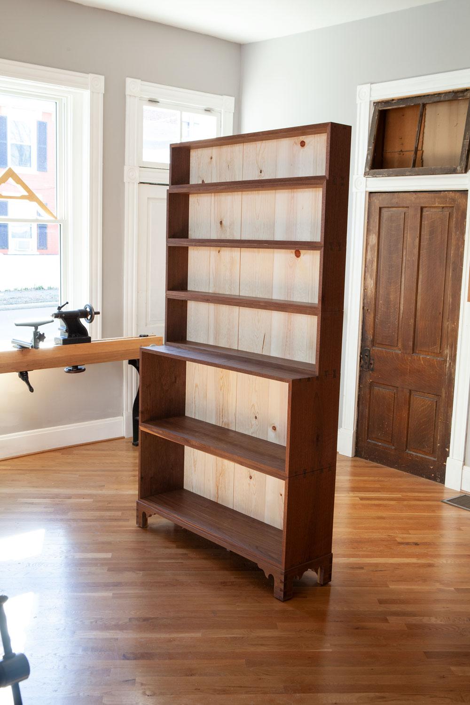 Monticello Bookcases Complete Lost Art Press