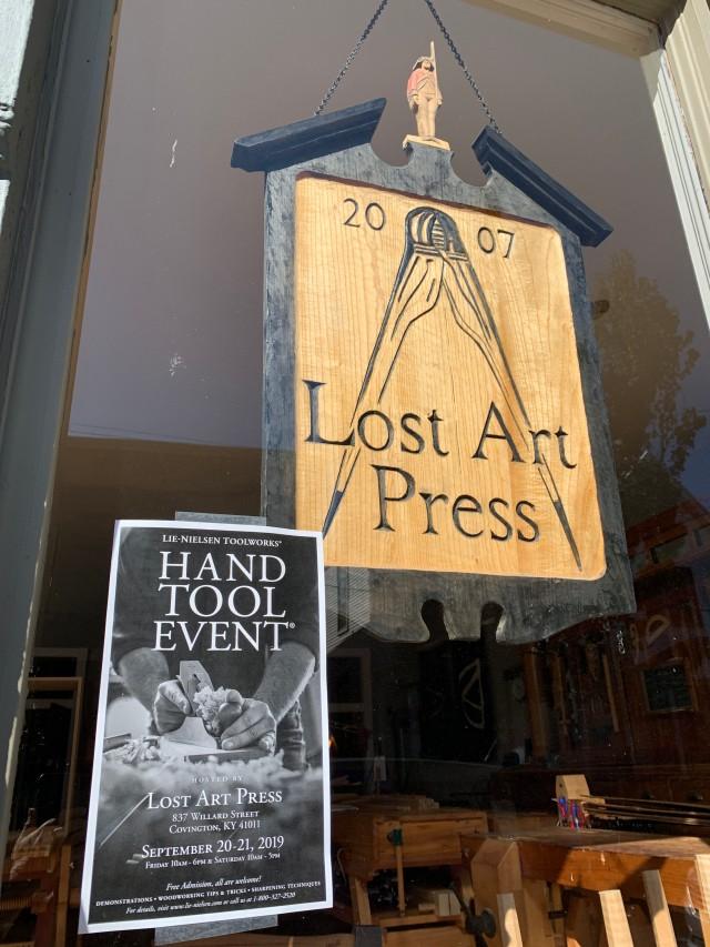 Lost Art Press storefront