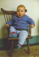 English child's chair.