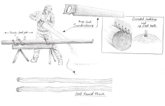 ripping-a-half-round-facia